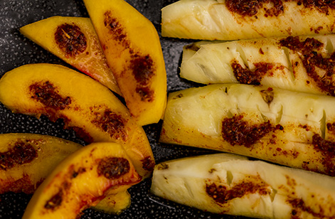 Peaches and Pineapples with Tajin