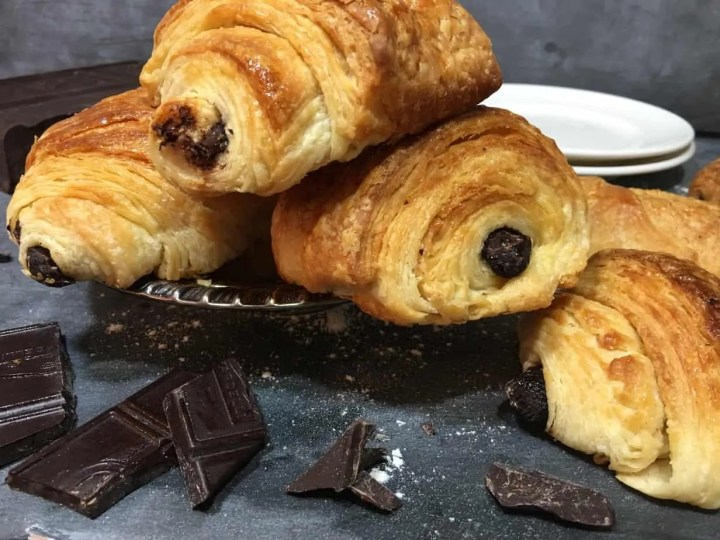Perfect chocolate Croissants