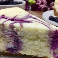NY Style Blueberry Cheesecake