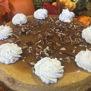 praline pumpkin cheesecake