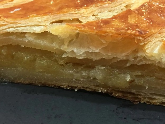 layer of flaky pastry