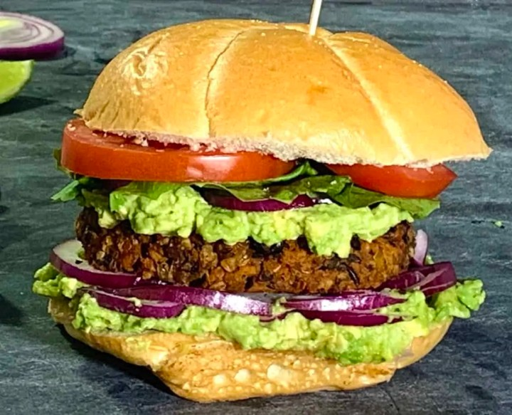 Delicious sweet potato burgers healthy and delicious