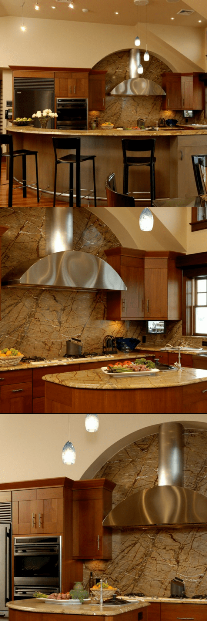 custom kitchen hoods pictures