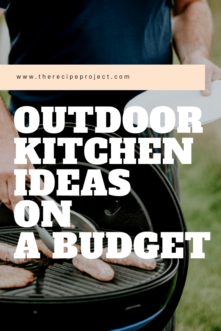 Outdoor Kitchen Ideas on a Budget (Affordable, Small, and DIY Outdoor Kitchen Ideas)