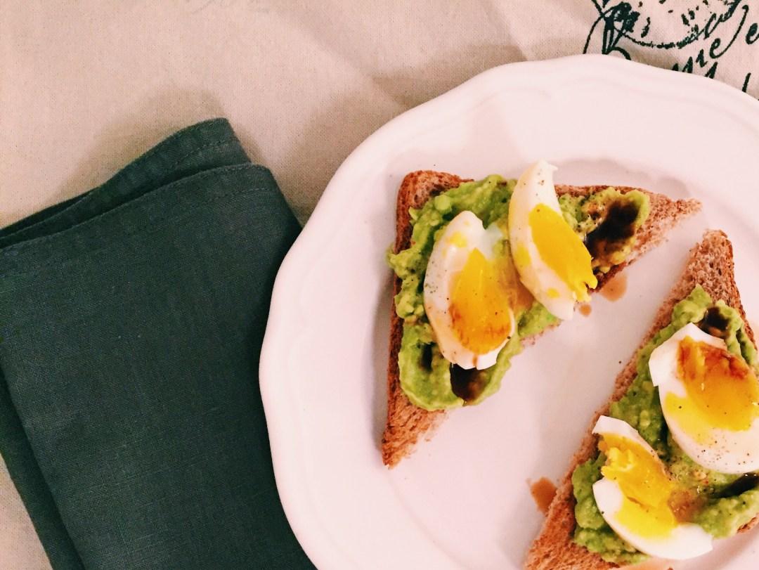 New Yorker Avocado Toast