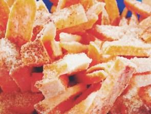 Süßkartoffeln mit Zimt-Zucker