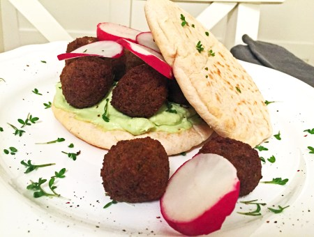Falafel-Burger