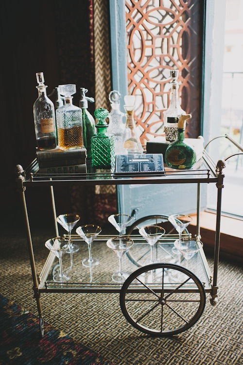 Gatsby Bar Cart