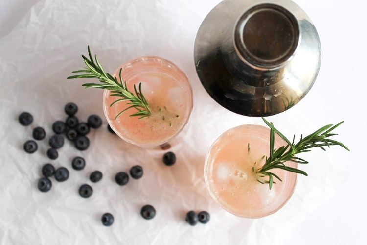 Rosemary Blueberry Smash