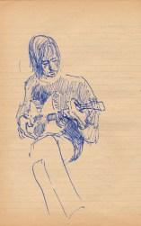 56 SB Folk guitarist