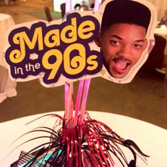 Totally Awesome 90's was this year's Dessert Reception theme.