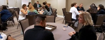 Attendees Participating in a Diversity Workshop