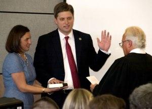 Judge Jeffrey Kuntz: Oath at Investiture