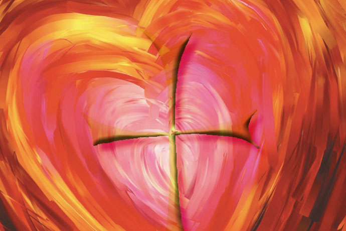 "The Archdiocese of Louisville's first Catholic Women's Conference is set for Nov. 7 at St. Patrick Church, 1000 N. Beckley Station Rd. The theme of the event is ""Setting Our Hearts on God."" The logo is shown above. Image Special to The Record"