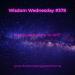 The Recovering Pessimist | Wisdom Wednesday #378 | www.therecoveringpessimist.me | #amwriting #recoveringpessimist #optimisticpessimist #wisdomwednesday
