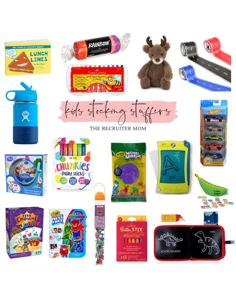 Gift Guide // Kids Stocking Stuffers 3-7