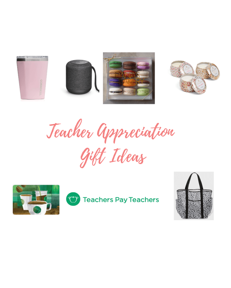 Gift Guide // Teacher Appreciation Week