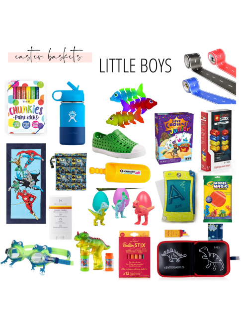Copy of Boy Easter Basket Ideas