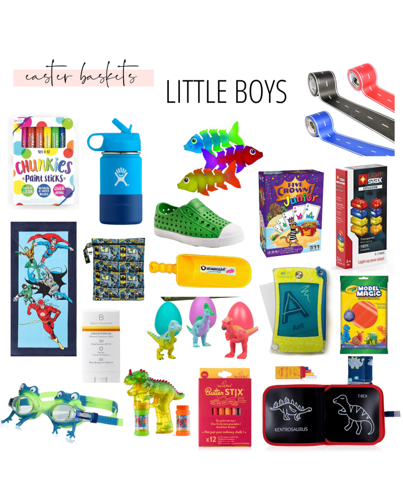 Easter Basket Ideas- Little Boys