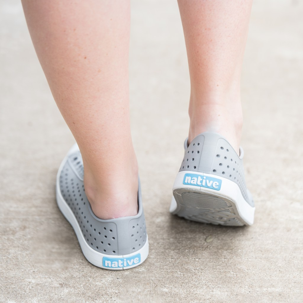 Native shoes for adults the most comfortable casual shoe.