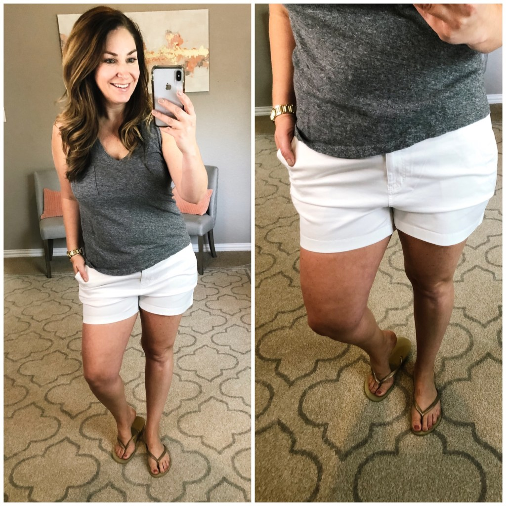 Best every day shorts for curvy moms- Vineyard Vines