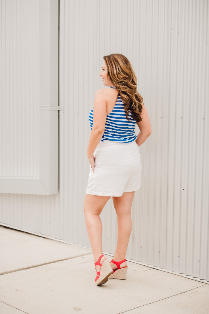 Red, White and Blue outfit summer 2019