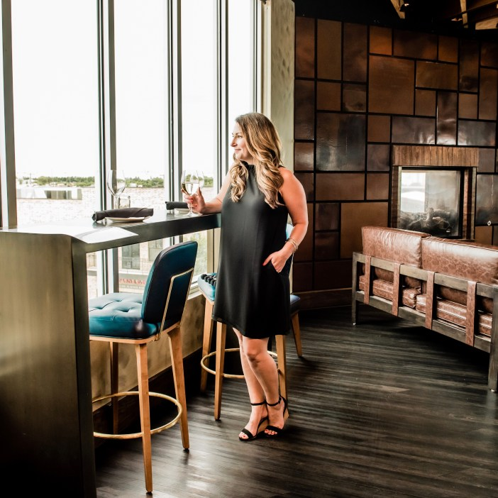Perfect Little Black Dress at Craft & Vine in Roanoke, TX. GibsonxHiSugarplum collection summer 2019.