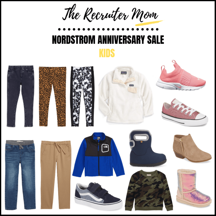 Nordstrom Anniversary Sale 2019 Kids Favorites. My daughter is 7 and son is 4 so typically I pick up jackets, shoes and pants during the sale. #nsale #nordstrom #ShopStyle #MyShopStyle #ContributingEditor #Flatlay