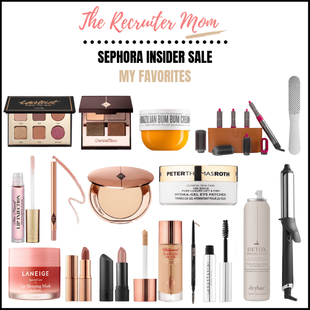 My favorites from the Sephora Summer Insider Sale through 8/27