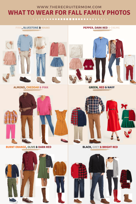What to wear for fall family photos in 2019 #fallfamilyoutfits #fallfamily #familyphotos #buffaloplaid #holidayphotos