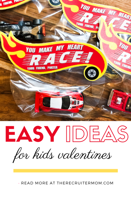 Easy Ideas for Kids Valentines: Items from Amazon and Etsy for quick and cute class valentines.