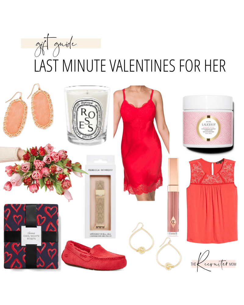 Gift Guide // Last minute Valentine's Day for her