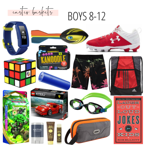 Easter Basket Ideas: Boys 8-12