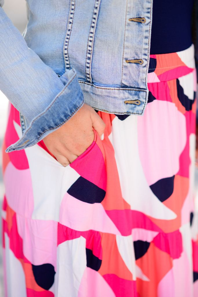 Gibson Look x Hi Sugarplum Paradise Tiered Maxi Skirt & Seashell Scoop Back Bodysuit  // Celebrate Summer collection // Summer 2020