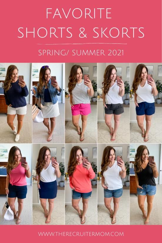 Best shorts and shorts for spring & summer 2021 // Size 12 // Mid Size Fashion // Spring Outfits // Summer casual outfits // Target