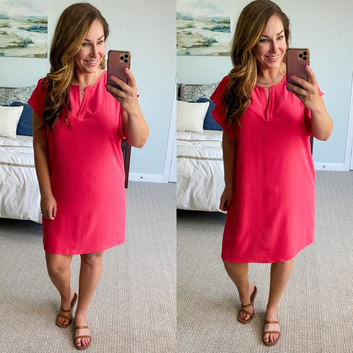 #ruffledress #summerdress #summerfashion #gibsonlook #summeroutfit #summerlook  #colorfuldresses #vacationlook #travellook