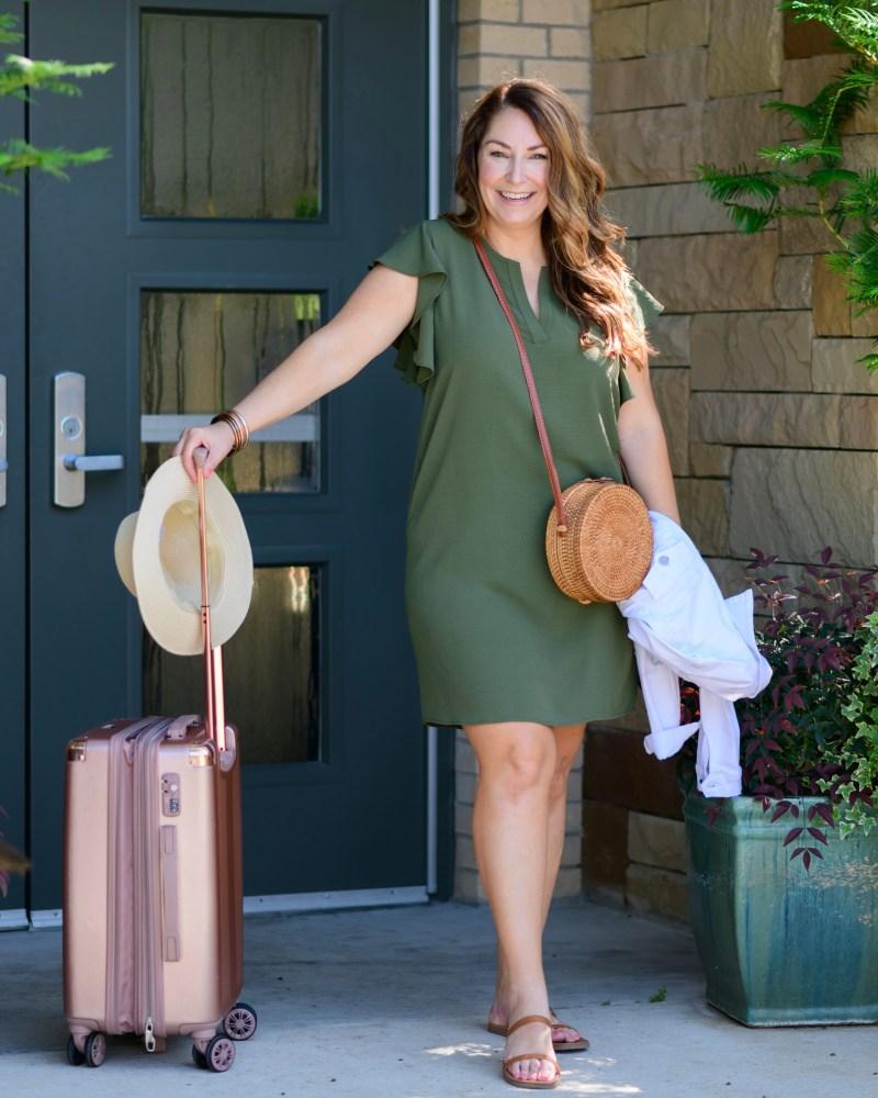 Gibsonlook Ryanne Ruffle Sleeve Dress | NEW SUMMER COLORS