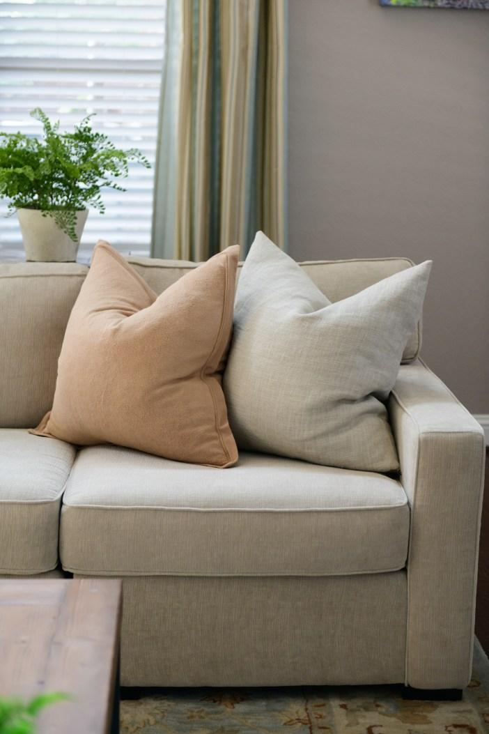 #livingroomreveal #PotteryBarn  #ModernCostal,  #HomeDecor #Sofa #Couch #livingroomdecor #decor #pillow  #Sectional #texashome