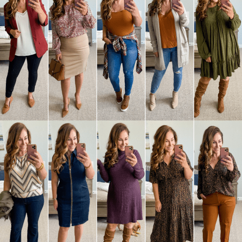10 outfits: Early Fall 2021