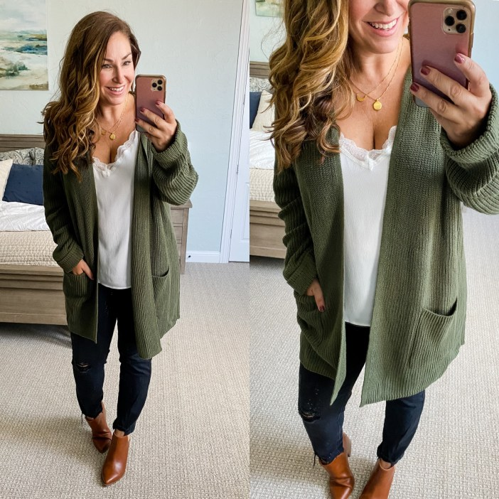 Casual Fall Outfit #affordablefashion #fallstyle #fallfashion #walmartfashion #womensfallclothing #outfitideas #fallcardigan