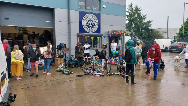 Grand opening event at The Recycle Project York