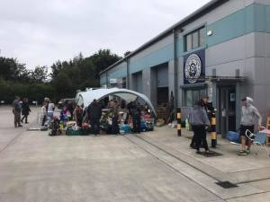 people at our £1 sale event