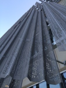 Perforated Zinc Cladding detail