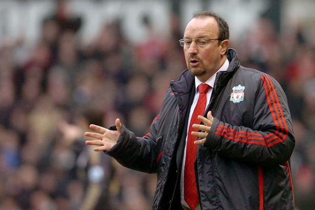 Rafa Benitez — a playing career cut short by injury to the heights of the Champions League final