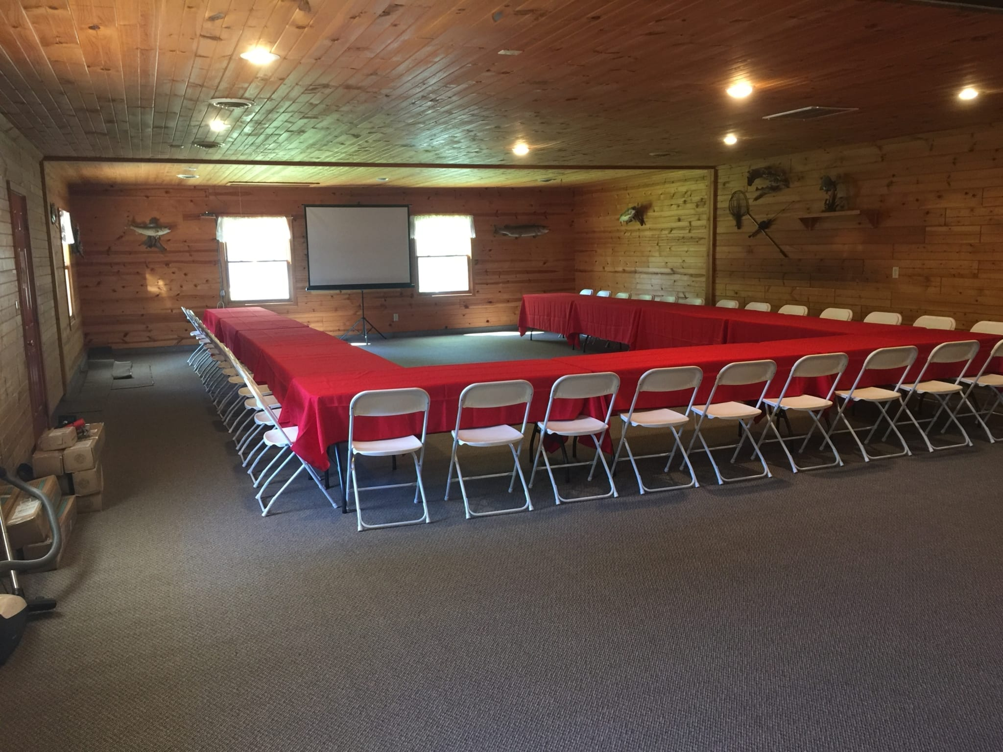 Event Center Mille Lacs Fishing Vacations Red Door Resort