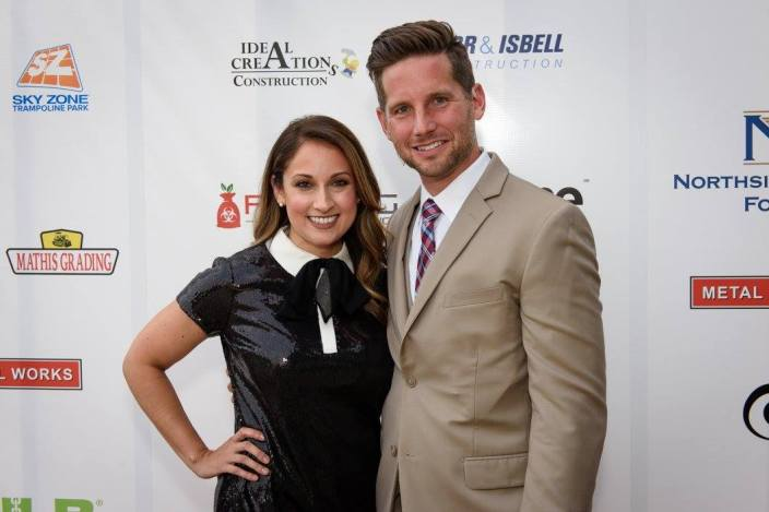 Edward and I on the red carpet at the NLB Banquet - DIY Personal Stylist