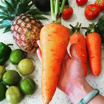 Check out the size of my carrot!!
