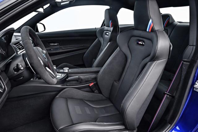 BMW M4 CS Interior