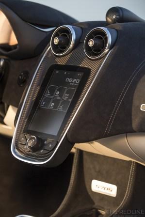 McLaren 570S media system IRIS