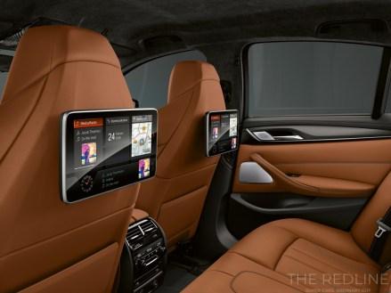 BMW M5 Competition interior